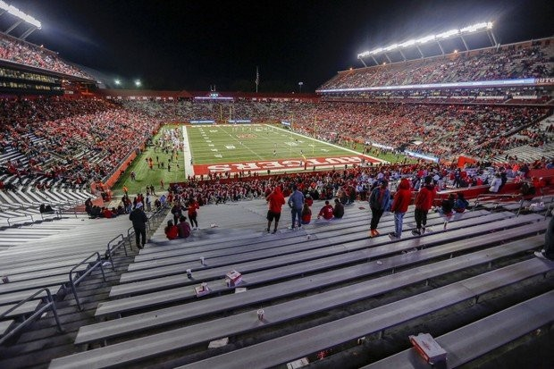 How Many Fans Actually Attended Rutgers Games In 2017 You Ll Be Surprised Nj Com