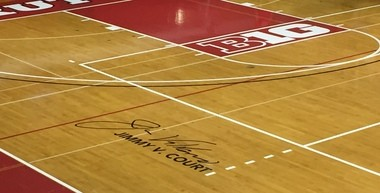 Rutgers is dedicating the court at the College Avenue Gym to alum and basketball icon Jim Valvano.