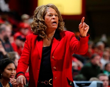 Rutgers coach C. Vivian Stringer has been involved in many firsts in her illustrious career, but the latest one baffled her.