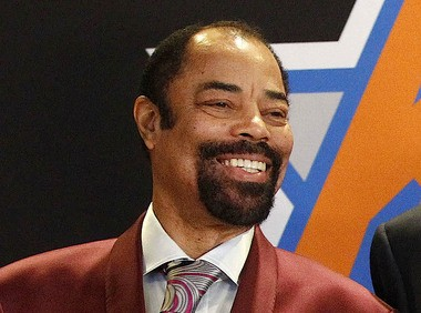 Hall of Fame guard and Knicks legend Walt Frazier, pictured in March 2014, was a great defender. (William Perlman | The Star-Ledger)