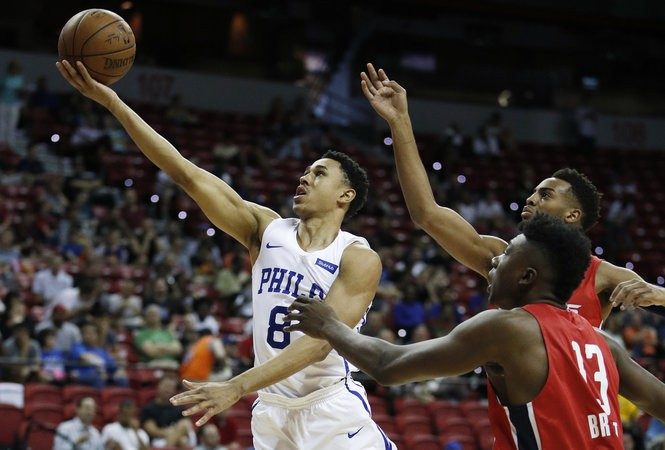 wholesale dealer 81318 cb704 Sixers mystery solved: How Zhaire Smith broke his foot and ...