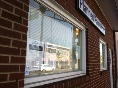 Signs were posted on the clinics windows indicating the Manville location was closed, and that all patient records were forwarded to the New Brunswick location.