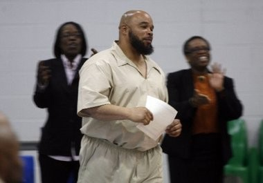 Gerard Richardson, pictured in this April 2010 photo at Northern State Prison in Newark, has claimed that new DNA evidence exonerates him of a murder conviction in the 1994 killing of an Elizabeth woman in Bernards Township.
