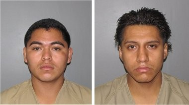 Domingo Rodriguez, left, and Jorge Naula-Paredes are serving five-year prison terms for assaulting Antonio Teletor-Ceballos during a September 2011 burglary at his North Plainfield home.