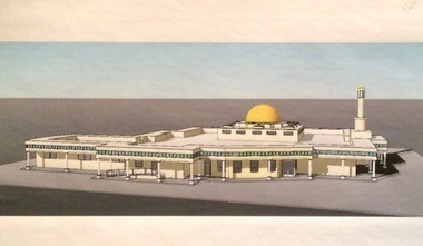 Architect Ralph Finelli's concept of the alFalah Center mosque in Bridgewater.