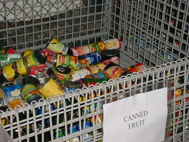 Food supplies are low this time of year at the Food Bank Network.