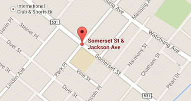 A man was stabbed Sunday at the corner of Jackson Avenue and Somerset Street in North Plainfield.