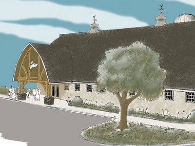 Rendering of proposed new sanctuary. (Courtesy of Christian Community Chapel)