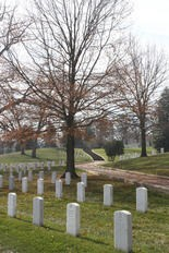 Tombstones line Arlington National Cemetery in Virginia. (File photo by Cindy Hepner/South Jersey Times)