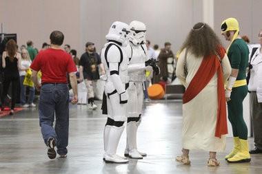 Wizard World Philadelphia Comic Con, Friday, May 31, 2013. (Staff Photo by Lori M. Nichols/South Jersey Times)