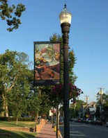 Art for the Pitman Art Stroll will be shown as posters that will be displayed on the lamp posts along Broadway.