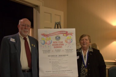 The Kiwanis Club of Greater Woodbury celebrates 90 years.