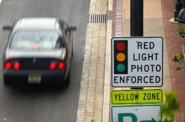 Red-light camera: Short notes that 75 percent of the tickets issued are not for running the light but for simply failing to come to a complete stop when making a right turn on red; that creates zero safety hazard.