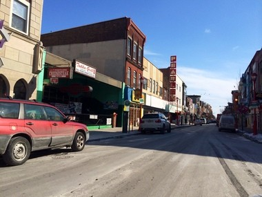 South Street near 5th Street as seen in this Feb. 19, 2015 picture. Richard Petrone Jr. and Danielle Imbo were last seen on Feb. 19, 2005 leaving a former bar near this intersection. (Greg Adomaitis | South Jersey Times)