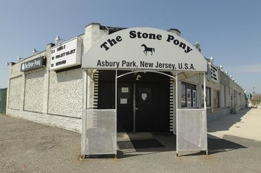 The main entrance of the Stone Pony. The club is celebrating its 40th anniversary this month.