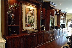 Inside a mansion in Alpine, New Jersey. The town was one of seven in Bergen County included on a list of communities with the highest property tax bills in the state.