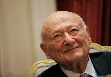 Former New York City Mayor Ed Koch attends the celebration of his 85th Birthday at the Bryan Cave LLP Celebration at the St. Regis Hotel on November 18, 2009 in New York City. Getty Images File Photo