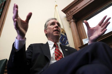Assemblyman John Wisniewski: He has to decide whether he wants to position himself as the guy who fought corruption or the guy defended it.