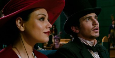 Mila Kunis co-starred with James Franco in 'Oz the Great and Powerful,' an offbeat prequel