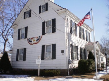 The Caldwell Parsonage Museum, listed on the National Register of Historic Places, will host an open house and a paranormal presentation.