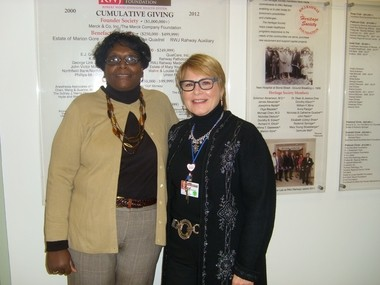 RWJ Rahway receives $15,000 grant from the Sydney J  Harris
