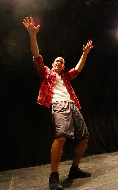 Pictured is Charles Centinaro as Usnavi in Kean University's upcoming production of 'In the Heights.'