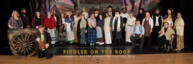 The cast of the CAU Community Players.