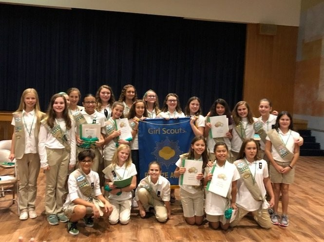 Girl Scouts Earn Bronze For Community Service Projects Nj Com