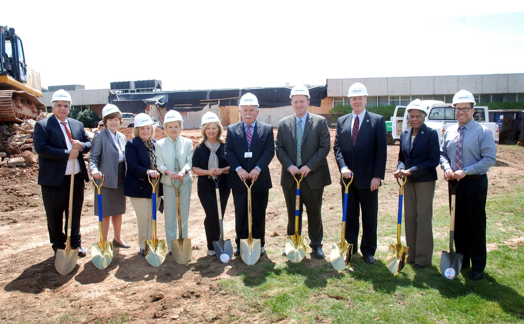 Groundbreaking For West Hall Expansion At Union County Vo Tech