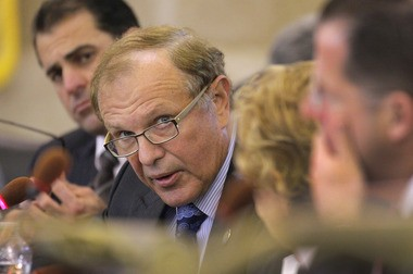State Sen. Raymond Lesniak (D-Union), the Legislature's chief supporter of legalizing sports betting, is shown in this October 2012 file photo.