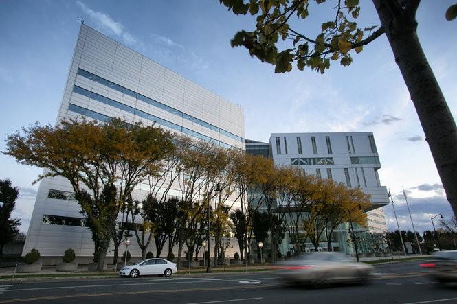 Richard J. Hughes Justice Complex in Trenton, where the appellate judges convene. (Michael Mancuso | For NJ.com )