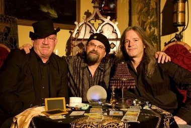 Karmic Repair Company, from left, Andy Haley, Graham Ford and Eric Worthington, will perform tonight at Puck Live in Doylestown, Pa.