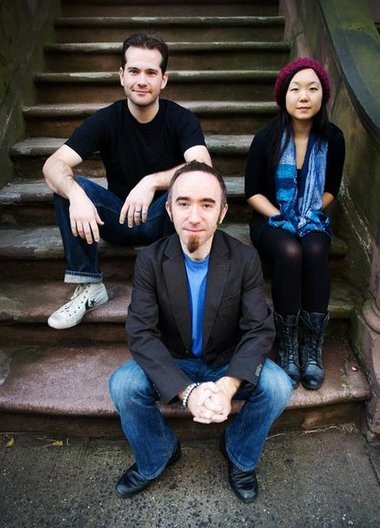 The Michael Gallant Trio, fronted by keyboard player Michael Gallant, center, and backed by drummer Chris Infusino and bassist Linda Oh, performs tonight at the Bordentown Record Collector.