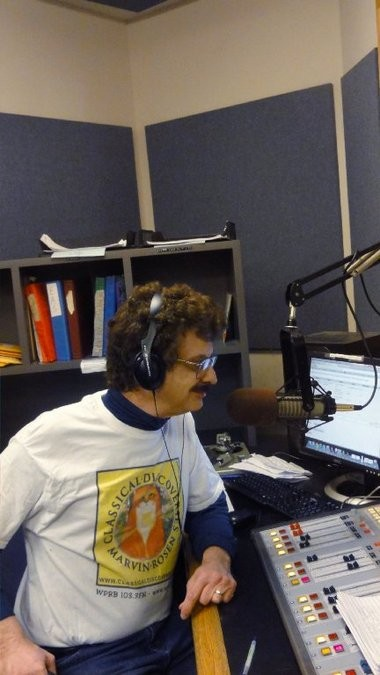 Host Marvin Rosen plays seldom-heard works on his shows on the Princeton University radio station WPRB.