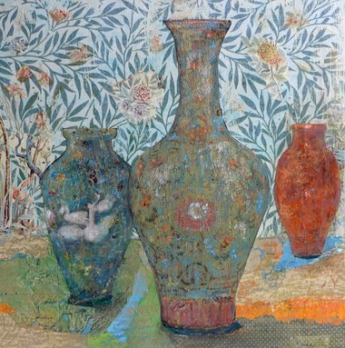 """Three Vases"" by Joanne Donnelly."
