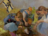 """Planting A Tree"" Susan Winters"