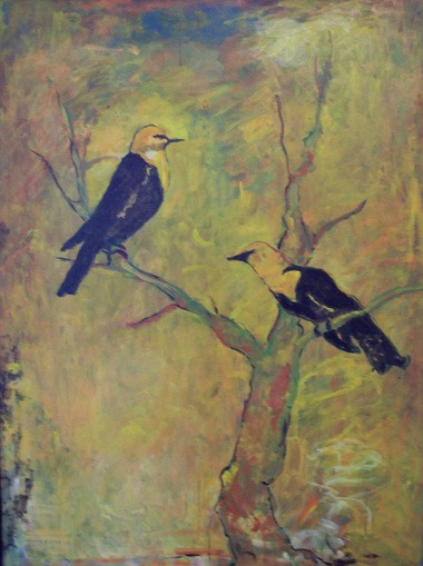 """""""Courting"""" by Patricia Butt"""