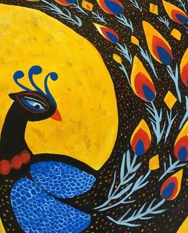 """Proud Peacock"" by Creassya Y."