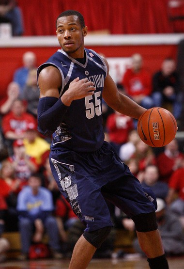 Jabril Trawick and Georgetown are Mark Eckel's pick to come out of the East.