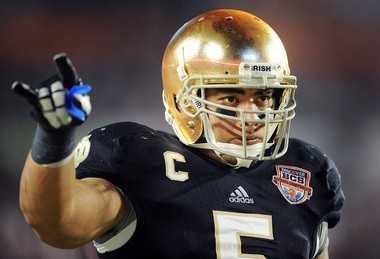 Forget all the imaginary girlfriend non-sense, the National Championship game vs. Alabama exposed Notre Dame star linebacker Manti Te'o, according to a scout.