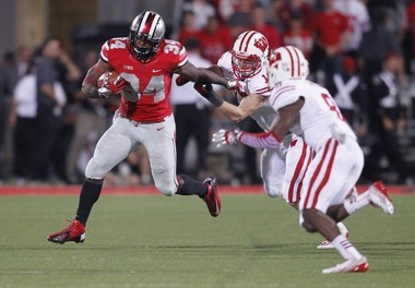 Former Ohio State running back Carlos Hyde is considered the best power back in the NFL Draft.