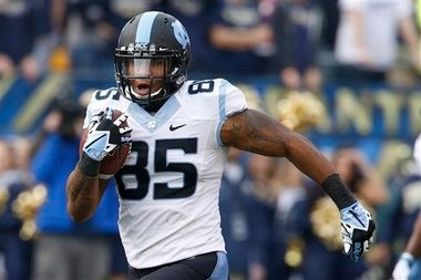 Is North Carolina tight end Eric Ebron the game-changer many are hyping him up to be? There is some debate as to if he is or isn't.