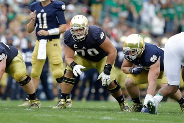 Some like Notre Dame's Zack Martin as a tackle; others like him as a guard.