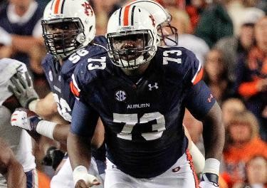 Auburn's Greg Robinson also gets high marks from our three personnel men.