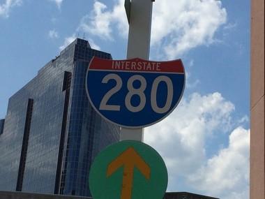I-280 in Newark. (Larry Higgs   NJ Advance Media for NJ.com)