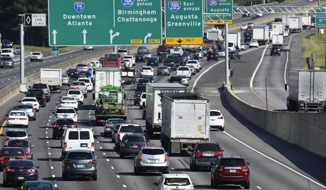 These are the 25 worst traffic hotspots in America  Four are