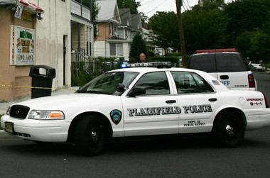 A Plainfield man was beaten to death on Saturday. Above, a Plainfield police car in a file photo.
