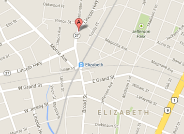 2 men were shot and wounded early this morning in Elizabeth, just outside a North Broad Street nightclub.