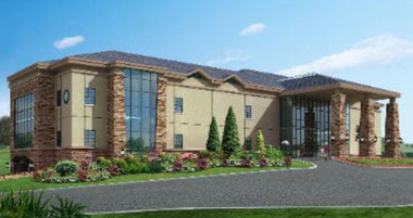 Club house at Galloping Hill Golf Course in Kenilworth. The Union County freeholders have awarded a 5-year contract to a company to continue managing the course, and included management of the banquet hall in the club house.