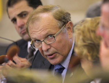 File photo of state Sen. Raymond Lesniak (D-Union) who is calling for a state investigation of the use of aid to special needs students. He claims school district are failing to provide the required aid.